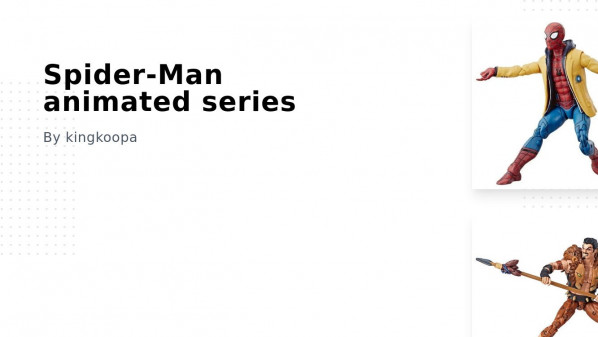 Spider-Man animated series Collection