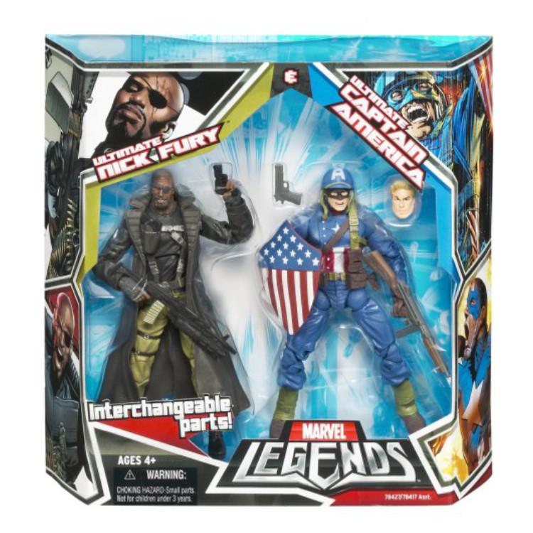 Ultimate Nick Fury & Captain America