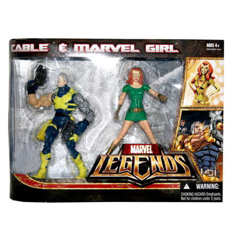 Cable & Marvel Girl