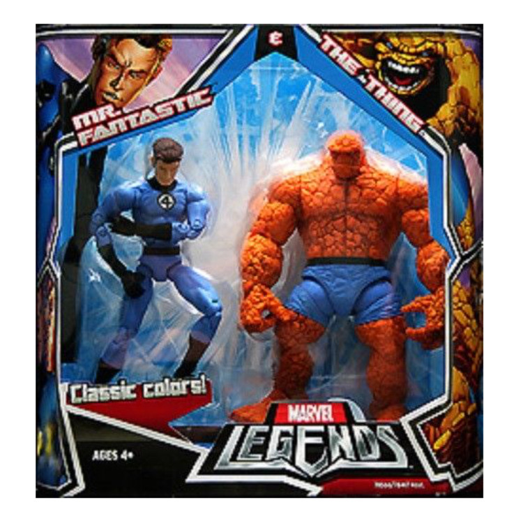 Mr. Fantastic & The Thing
