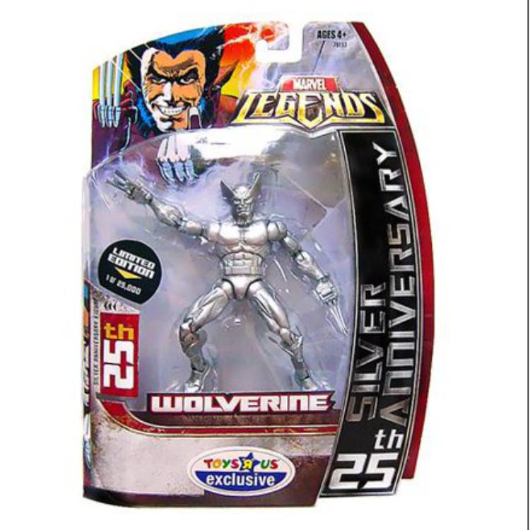 Wolverine 25th Silver Anniversary