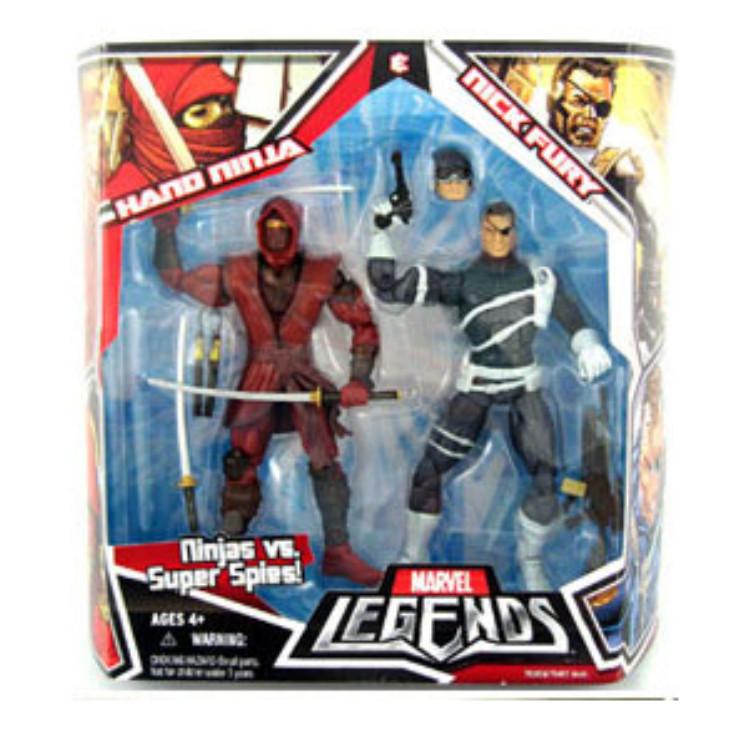 Hand Ninja & Nick Fury