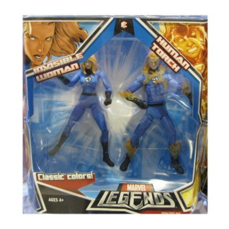 Invisible Woman & Human Torch