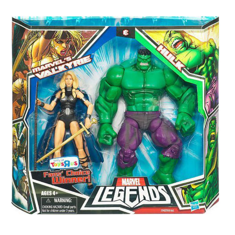 Marvel's Valkyrie & Hulk