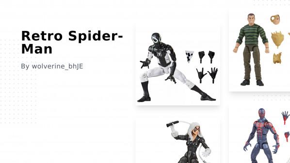 Retro Spider-Man Collection