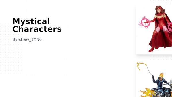 Mystical Characters Collection
