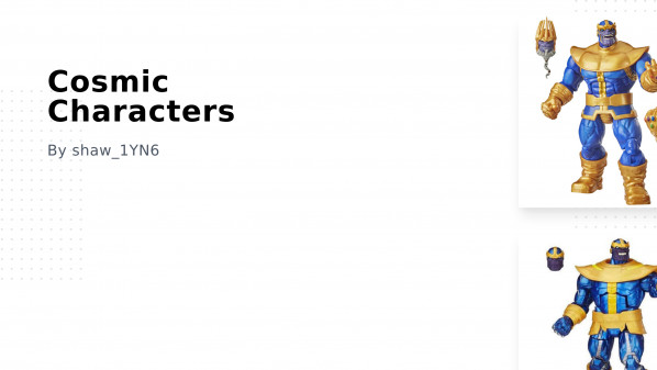 Cosmic Characters Collection