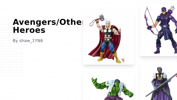 Avengers/Other Heroes Collection