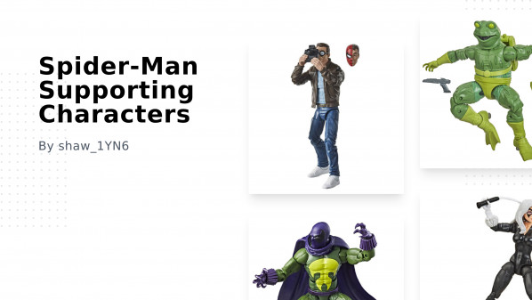 Spider-Man Supporting Characters Collection