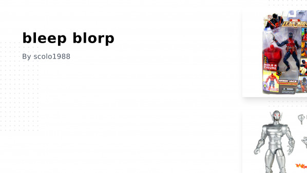 bleep blorp Collection